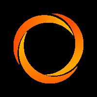 Fluorescerende polyester band 50 mm - 6000 kg - 100 m op rol - GA